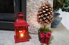arvore de natal feita com pinha diy how to make a pine cone