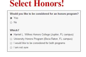 Honors And Activities For Resume Fau Honors College Apply Now