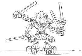 coloring page star wars lego general grievous coloring page free printable coloring pages