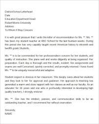 ideas of letter of recommendation for ms in biotechnology sample