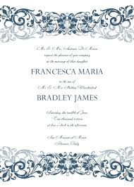 Free Wedding Samples Free Wedding Invitation Samples Wedding Invitation Templates Free