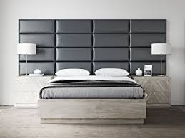 wall headboards for beds amazon com vant upholstered headboards accent wall panels