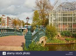Urban Garden Amsterdam Amsterdam Hortus Botanicus Botanical Garden Stock Photos