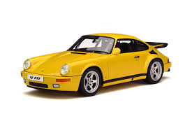 porsche yellow bird gt spirit to bring in 1 18 ruf yellow bird this august u2013 xdiecast
