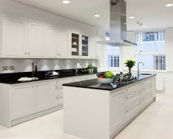 White Kitchen Cabinets And Black Countertops Best Kitchen Designs White Cabinets Black Countertops 2017