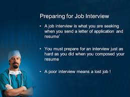 Job Application And Resume by Preparing For The World Of Work Ppt Video Online Download