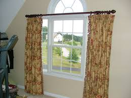 Arch Window Curtain Bedroom Arched Window Curtain Rod Cabinet Hardware Room