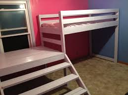 Ana White Build A Camp Loft Bed With Stair Junior Height Free by Ana White Twin Loft Beds With Platform Diy Projects