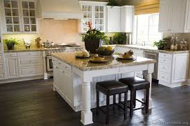 Traditional Home Great Kitchens - great white cabinet kitchen design ideas for white kitchens