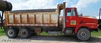 volvo dump truck 1992 volvo wg64 dump truck item l5522 sold october 4 go