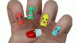 easy nail art characters pokemon characters ultimate easy holiday nail art designs for all