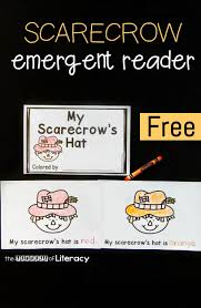scarecrow emergent reader the letters of literacy
