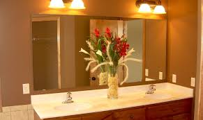 lighting bathroom led light fixtures over mirror thrilling light