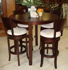 Espresso Bistro Table Enchanting Espresso Bistro Table With Country Style Bistro Design