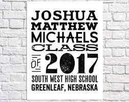 boy high school graduation gifts gifts for him 2017 etsy