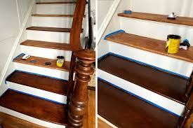 how to use minwax gel stain on kitchen cabinets how to update stair treads with minwax gel stain made by carli