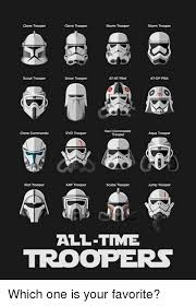 Star Wars Stormtrooper Meme - snow trooper sand trooper shadow trooper storm trooper scout