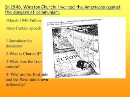 Winston Churchill And The Iron Curtain Roots Of The Cold War A Two Opposed Systems The Theory U2026 Ppt