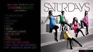 the saturdays chasing lights album sler