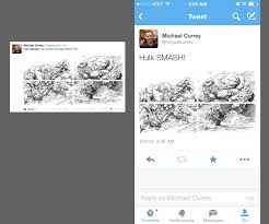 create a cool twitter collage with our template blog design
