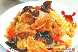 cuisiner du choux chinois chou chinois au porc et aux ch recette chinoise