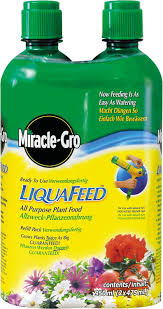 miracle gro liquafeed all purpose plant food refill bottles pack