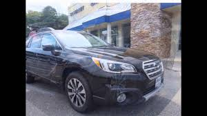 subaru outback black 2015 2016 subaru outback crystal black silica youtube
