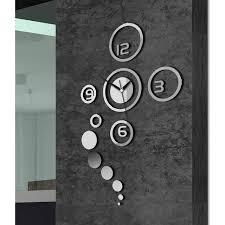 pendule de cuisine design horloge design mural achat vente horloge pendule cdiscount