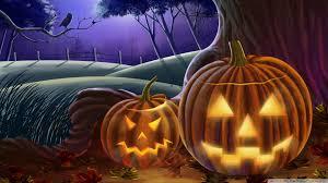 1920x1080 halloween background jack o the lanterns hd desktop wallpaper widescreen high