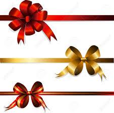 ribbon and bows set of gift bows and ribbons royalty free cliparts vectors and