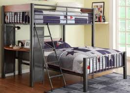 stunning full bunk bed desk and bunk beds with desk image of bunk