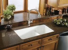 The Undermount Kitchen Sinks Teresasdeskcom Amazing Home - Porcelain undermount kitchen sink
