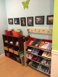 galley book shelves made of rain gutters classical mothering