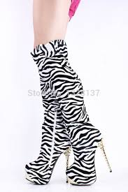 womens zebra boots popular 18 boots buy cheap 18 boots lots from china 18