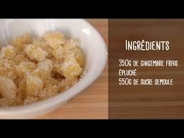 comment cuisiner le gingembre comment faire du gingembre confit et appétissant