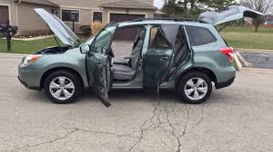 subaru forester 2017 jasmine green 2014 subaru forester limited 2 5i green visit as at www