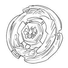 free printable beyblade coloring pages for kids japanese anime