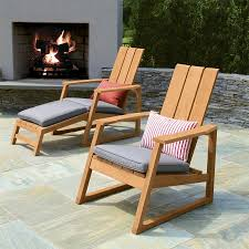 Adarondak Chairs Teak Outdoor Chairs Aspen Adirondack Chair Country Casual