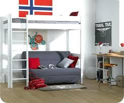 mezzanine canapé lit mezzanine 2 places avec canape lit en hauteur avec canape