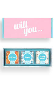 gifts to ask bridesmaids to be in wedding a sweet is the way to ask bridesmaids to be a