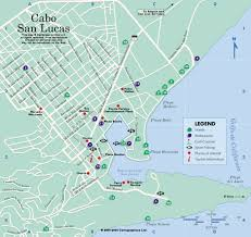 san jose cabo map hotels cabo san lucas map mexico on line