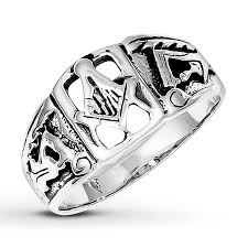 kay jewelers class rings jared men u0027s masonic ring sterling silver