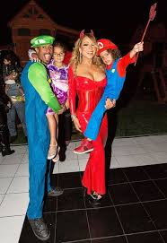Kids Halloween Devil Costumes Mariah Carey Hosts Halloween Party Nick Cannon Kids Weekly