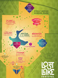 Outsidelands Map Lost Lake Festival 2017 In Phoenix Everything You Need To Know