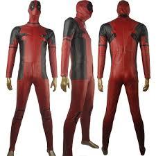 Men Rogue Halloween Costume Men Deadpool Wade Wilson Bodysuit Jumpsuit Halloween Costume