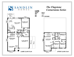 Empty Nest Floor Plans Sandlin Floorplans Flagstone U2013 Sandlin Homes
