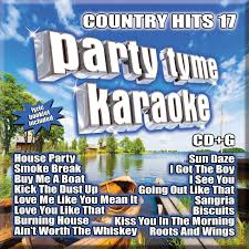 tyme karaoke tyme karaoke country hits 17 16 song