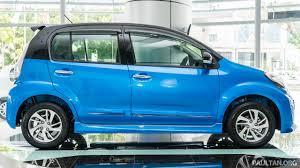 biru alza 2016 perodua myvi 1 5l advance in images
