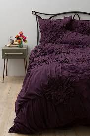 Anthropologie Duvet Covers Best 25 Plum Bedding Ideas On Pinterest Purple Comforter
