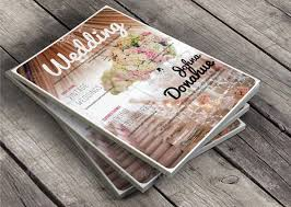 Wedding Magazine Template 35 Free Magazine Template Designs Idevie